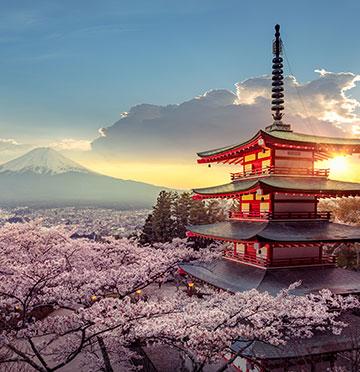 Bestemming Azië