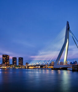 De stad Rotterdam
